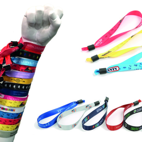 Full colour printed wristbands